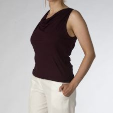 """Catherine"" Top - Purple Plum - 15.00 €"
