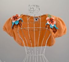 Flower Coursage Bolero - Orange - Size L - 65.00 €