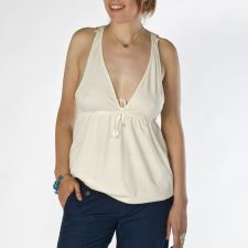 Racer Back Top - Cream - 25.00&nbsp;&euro;