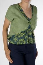 Green Bolero - Irish Linen - Green - 30.00 €