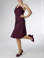 """Daisy"" Dress - Only I remaining - size 8 - Deep Purple - 35.00 €"
