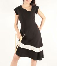SilverMoon Dress (Only 1 in stock - Size 12) - Black - 89.00€