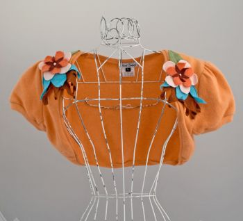 Flower Coursage Bolero