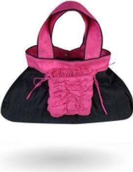 """Bersache"" - Raw Silk Handbag"