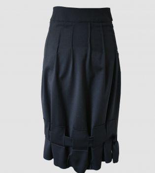 Tulip Skirt Black